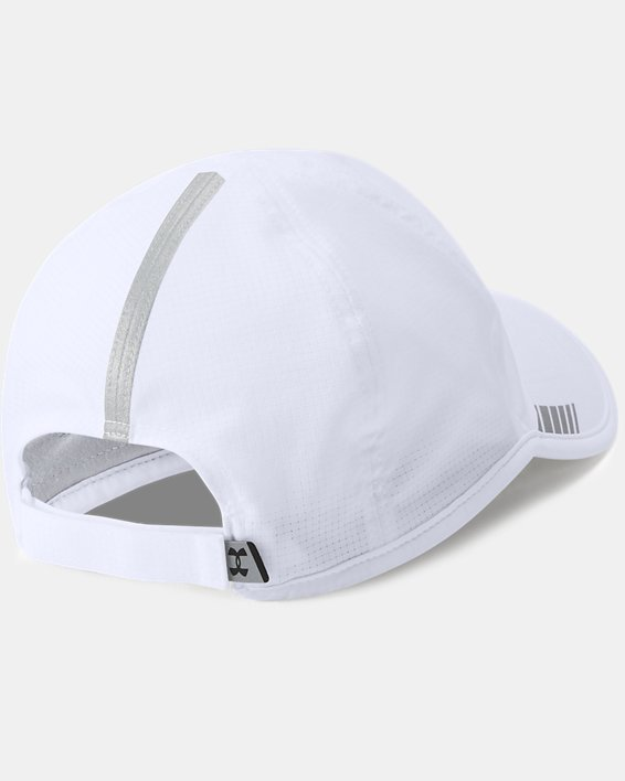 Men's UA Launch ArmourVent™ Cap, White, pdpMainDesktop image number 1
