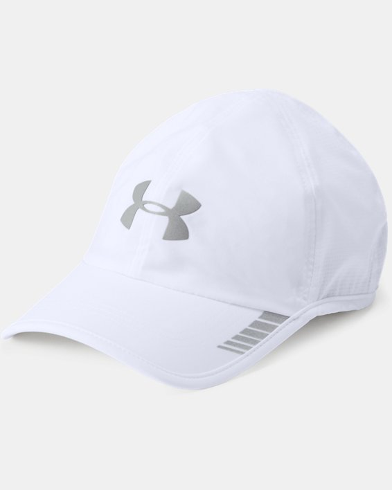 Men's UA Launch ArmourVent™ Cap, White, pdpMainDesktop image number 0
