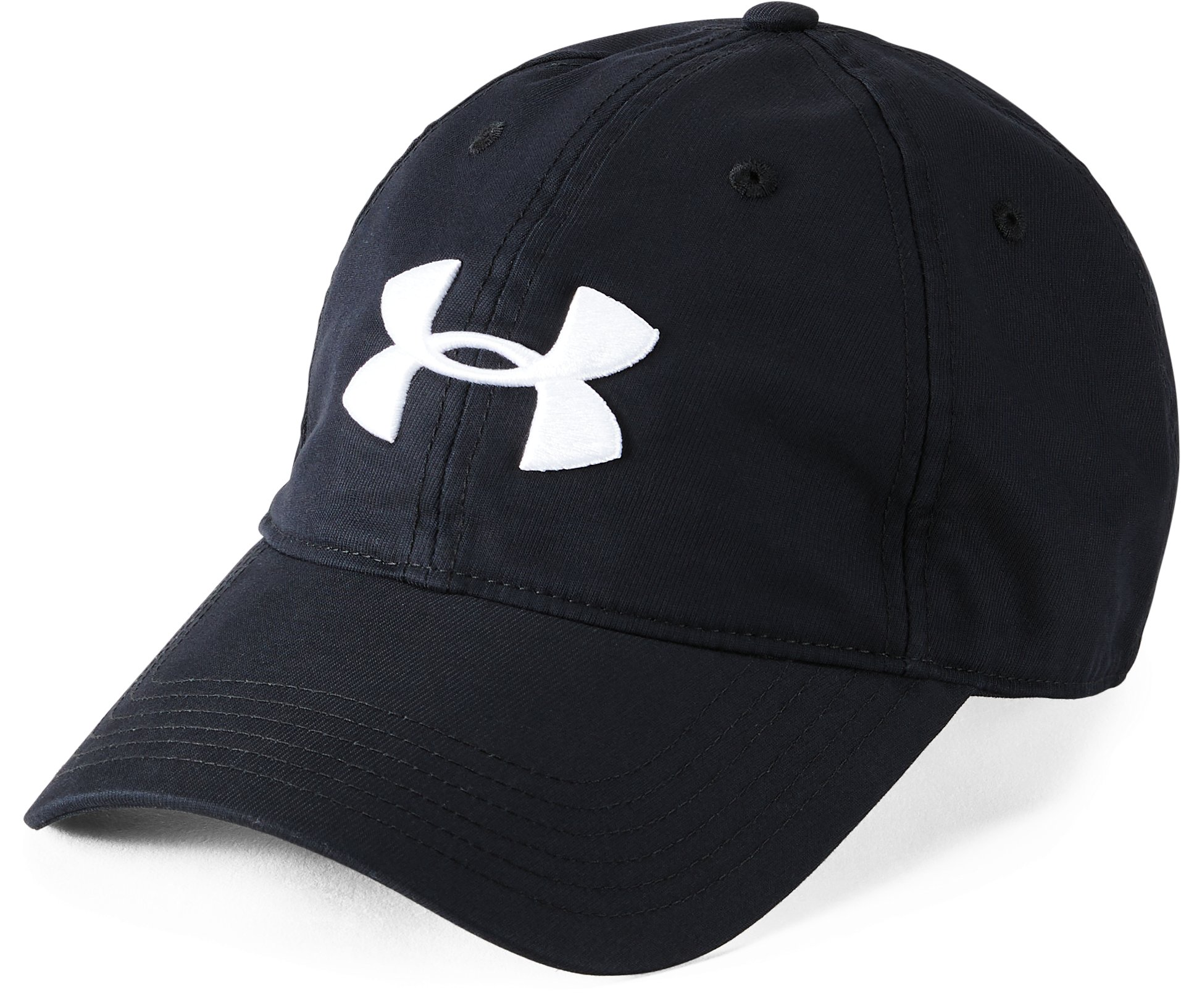 Men's UA Golf Chino 2.0 Cap, Black ,