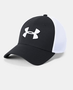 Men's UA Microthread Golf Mesh Cap  1  Color Available $25