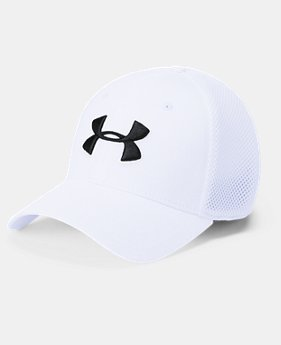 Men's UA Microthread Golf Mesh Cap  1  Color Available $32