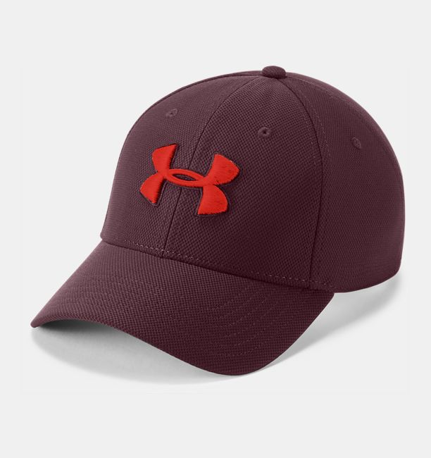 Men's UA Blitzing 3.0 Cap, DARK MAROON, , DARK MAROON, Click to view full size