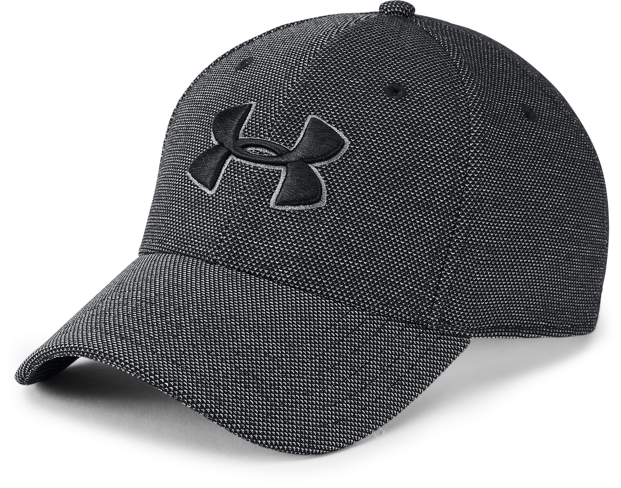 Men's UA Heathered Blitzing 3.0 Cap, Black ,