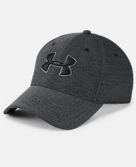 New Arrival  Men's UA Heathered Blitzing 3.0 Cap  1  Color Available $32
