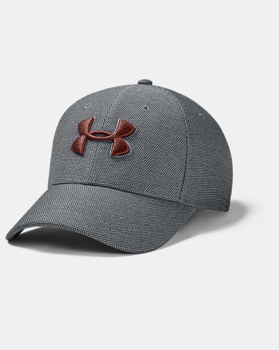 Men's UA Heathered Blitzing 3.0 Cap, Gray, pdpMainDesktop image number 0