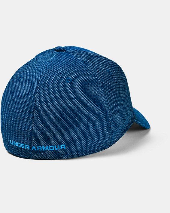 Men's UA Heathered Blitzing 3.0 Cap, Blue, pdpMainDesktop image number 1