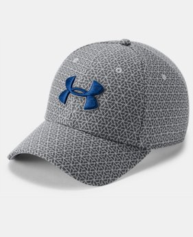 New Arrival Men's UA Printed Blitzing 3.0 Stretch Fit Cap  2  Colors Available $25