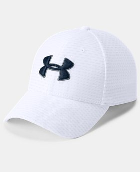 Men's UA Printed Blitzing 3.0 Stretch Fit Cap  6  Colors Available $25