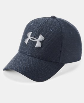 New Arrival Men's UA Printed Blitzing 3.0 Stretch Fit Cap  1  Color Available $25