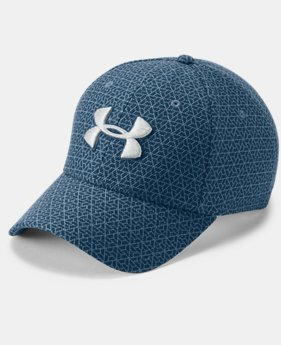 Men's UA Printed Blitzing 3.0 Stretch Fit Cap  1  Color Available $25