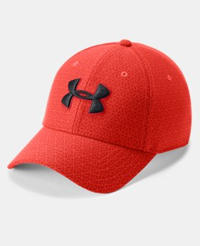 New Arrival Men's UA Printed Blitzing 3.0 Stretch Fit Cap  5  Colors Available $25