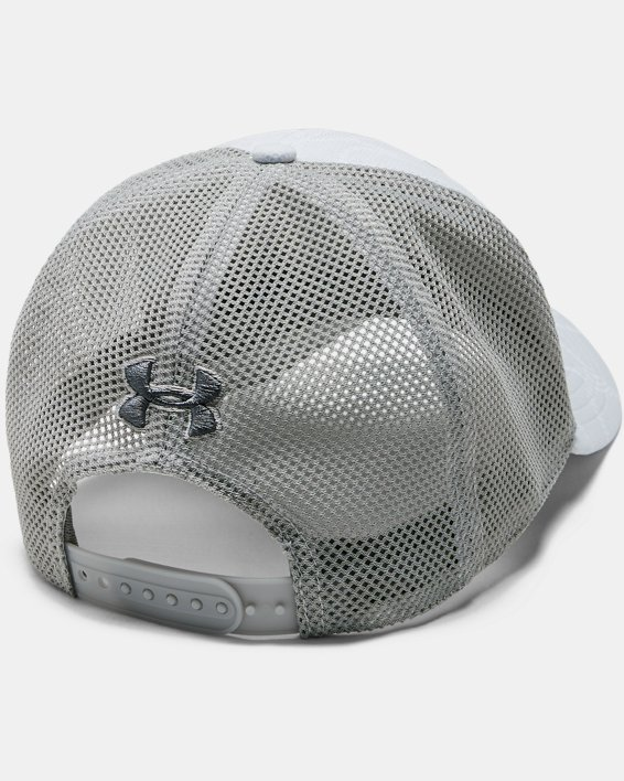 Men's UA Trucker Blitzing Cap, Gray, pdpMainDesktop image number 1