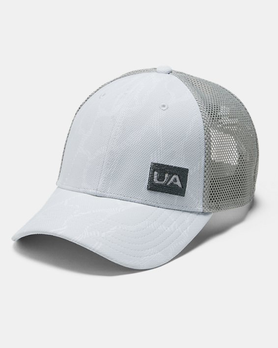 Men's UA Trucker Blitzing Cap, Gray, pdpMainDesktop image number 0