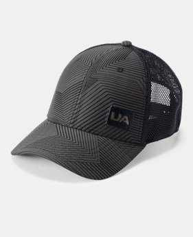Men's UA Trucker Blitzing Cap  1  Color Available $35