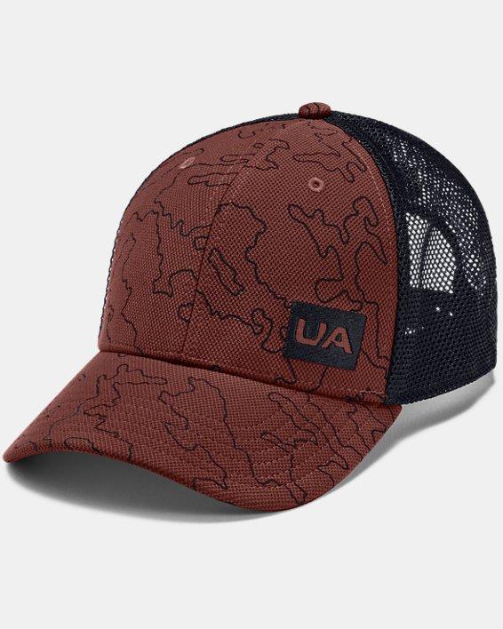 Men's UA Trucker Blitzing Cap, Red, pdpMainDesktop image number 0