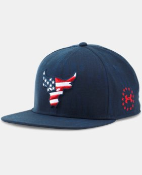 Men's UA x Project Rock Freedom Snapback Cap   $34.99