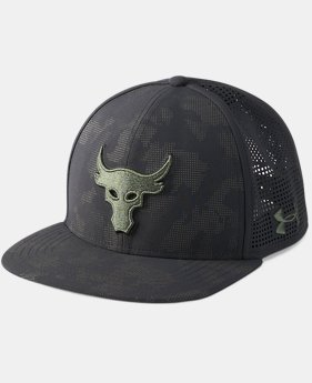 Best Seller UA x Project Rock SuperVent Snapback Cap   $34.99