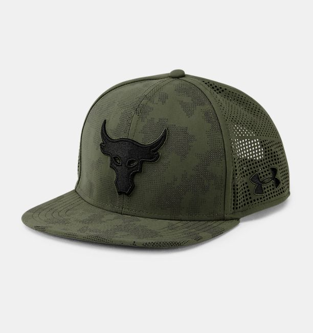 7ecd218651d UA x Project Rock SuperVent Snapback Cap