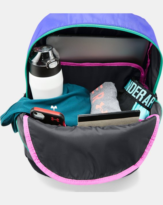 Girls UA Favorite Backpack 3.0, Black, pdpMainDesktop image number 3