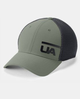 New Arrival Men's UA Train Spacer Mesh Cap  5  Colors Available $25