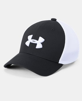 Boys' UA Microthread Golf Mesh Cap  1  Color Available $19.99