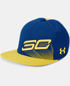 New Arrival Boys' SC30 Tilted Logo Snapback Cap  1 Color $28