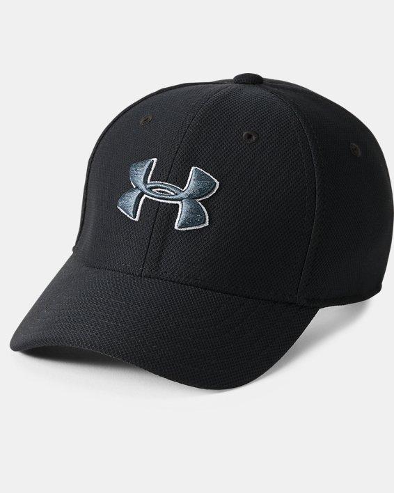 Boys' UA Blitzing 3.0 Cap, Black, pdpMainDesktop image number 0