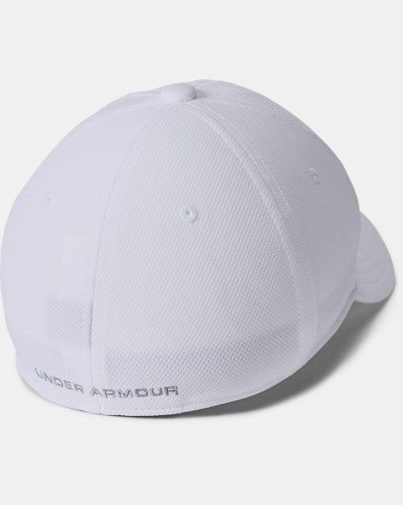 Boys' UA Blitzing 3.0 Cap, White, pdpMainDesktop image number 1
