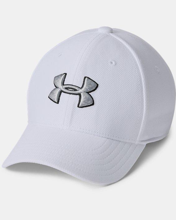Boys' UA Blitzing 3.0 Cap, White, pdpMainDesktop image number 0