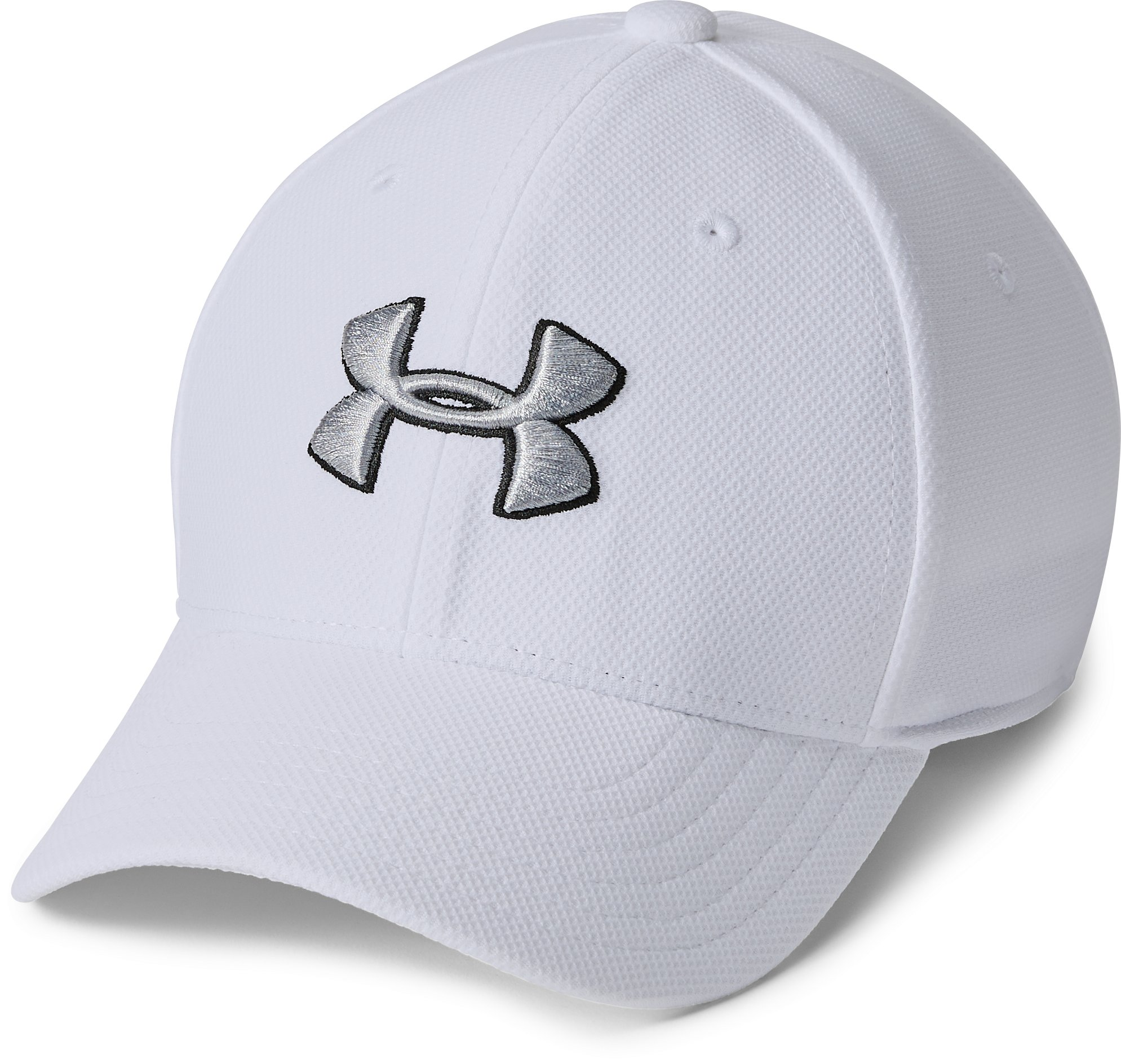 white crown caps Boys' UA Blitzing 3.0 Cap Stretch construction provides a <strong>comfortable fit</strong>.