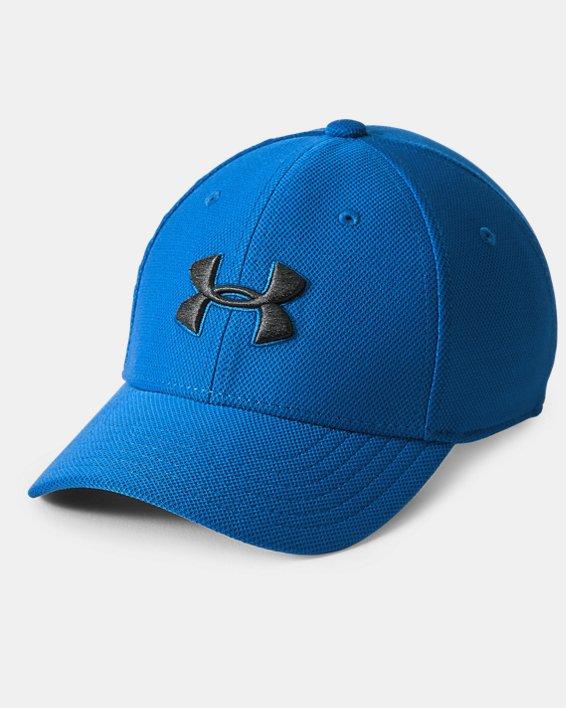 Boys' UA Blitzing 3.0 Cap, Blue, pdpMainDesktop image number 0