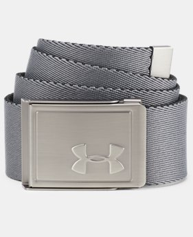 Boys' UA Solid Webbing Belt  1  Color Available $20