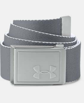 Boys' UA Solid Webbing Belt  1  Color $25