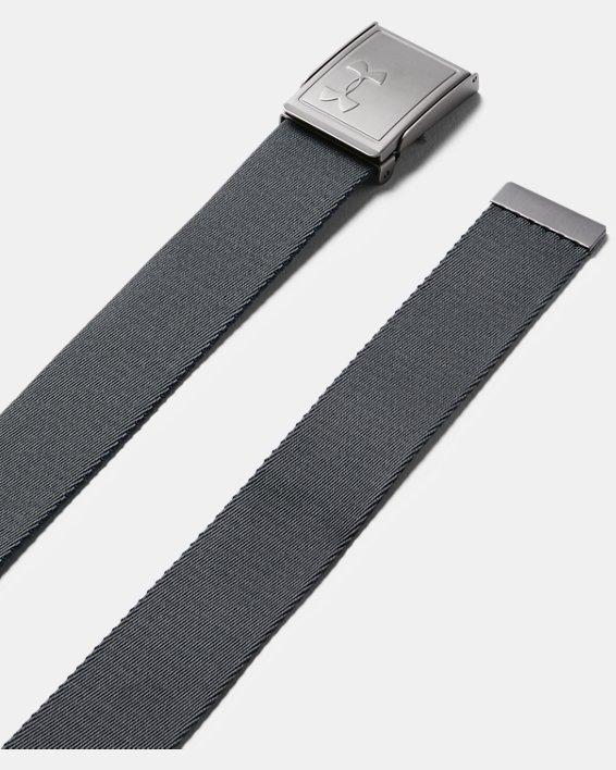 Boys' UA Solid Webbing Belt, Navy, pdpMainDesktop image number 1