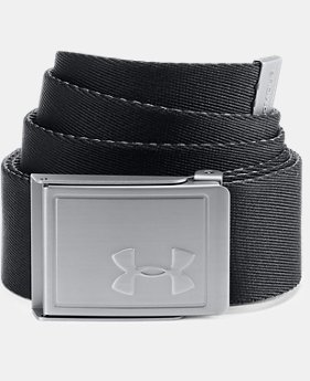 Men's UA Webbing Belt 2.0  1  Color Available $20