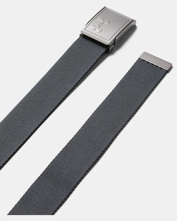 Men's UA Webbing Belt 2.0, Black, pdpMainDesktop image number 1