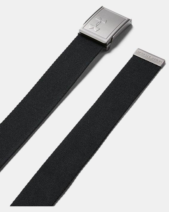 Men's UA Webbing Belt 2.0, Black, pdpMainDesktop image number 0