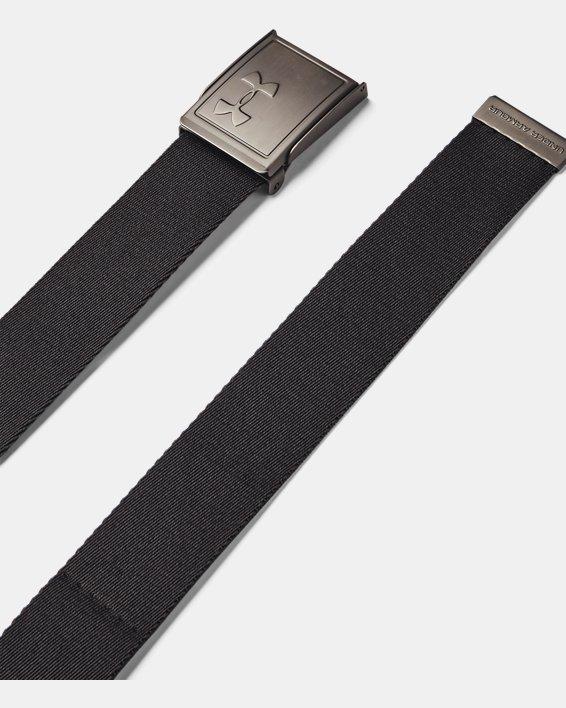 Men's UA Webbing Belt 2.0, Gray, pdpMainDesktop image number 0