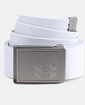 Men's UA Webbing Belt 2.0  3  Colors Available $25