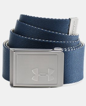 Men's UA Webbing Belt 2.0  1  Color Available $25