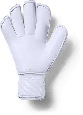 Men/'s Under Armour UA Magnetico Premier Goalkeeper Green Gloves New Size 10