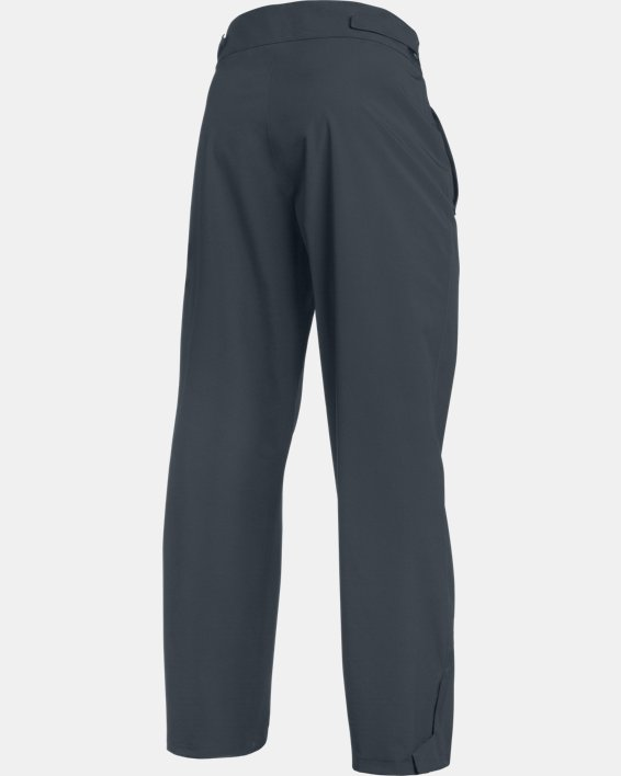 Men's UA Storm Rain Pants, Gray, pdpMainDesktop image number 2