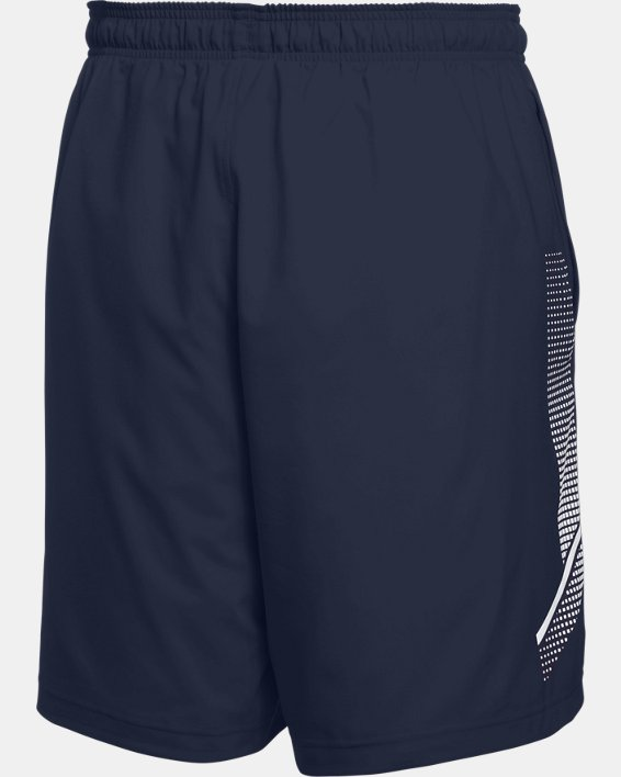 Men's UA Woven Training Shorts, Navy, pdpMainDesktop image number 6