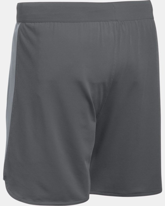 UA Women's UA Game Time Shorts, Gray, pdpMainDesktop image number 6