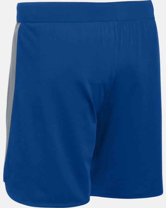 UA Women's UA Game Time Shorts, Blue, pdpMainDesktop image number 6