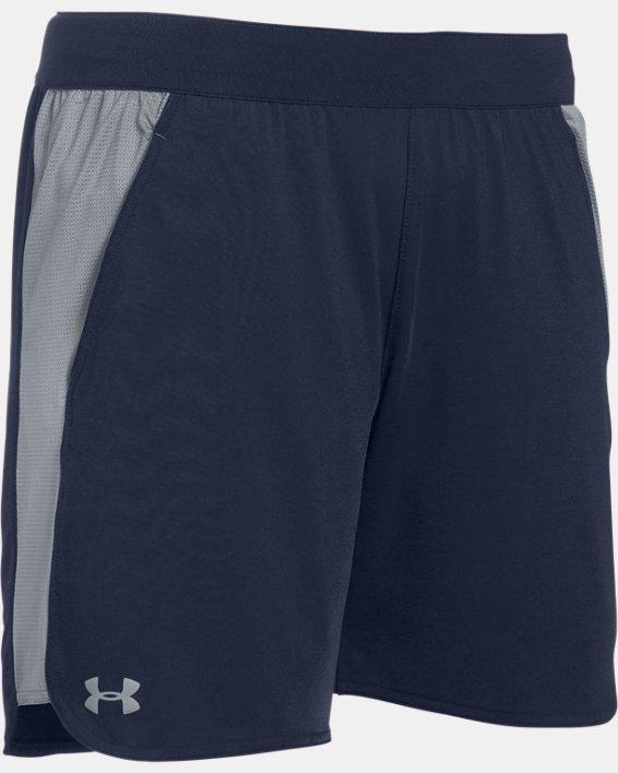 UA Women's UA Game Time Shorts, Navy, pdpMainDesktop image number 6