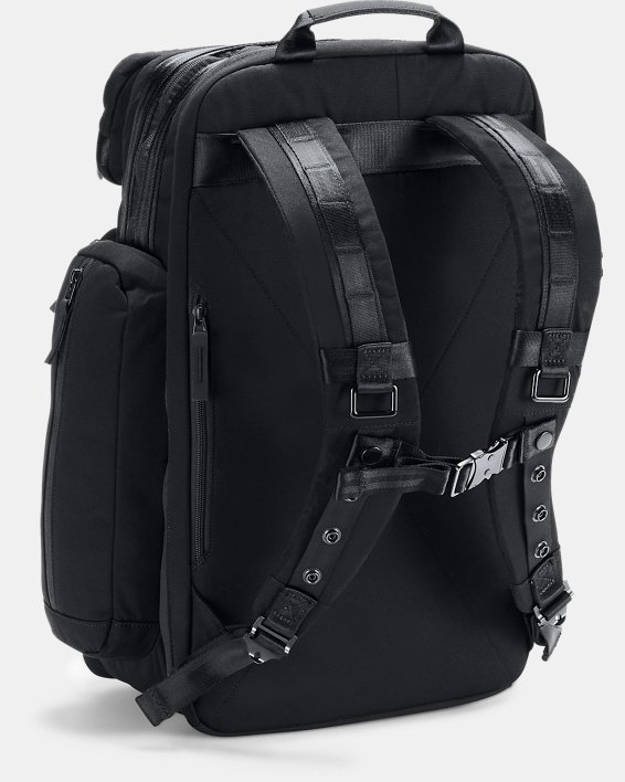 Men's UA Pro Series Rock Backpack, Black, pdpMainDesktop image number 1