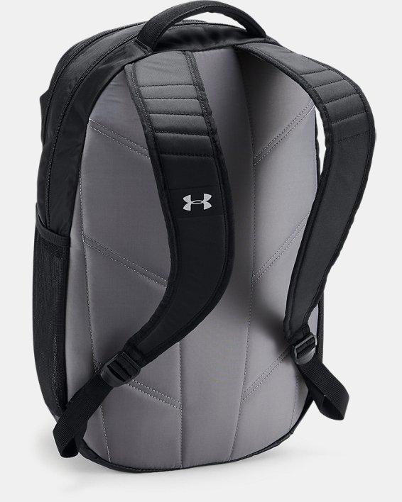 UA Team Hustle 3.0 Backpack, Black, pdpMainDesktop image number 1
