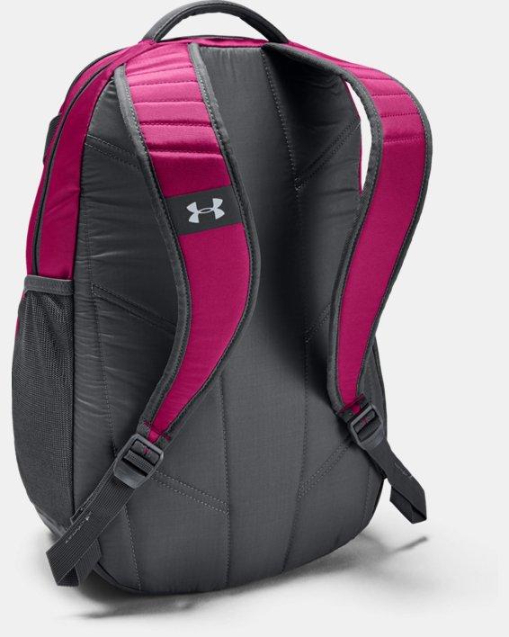 UA Team Hustle 3.0 Backpack, Pink, pdpMainDesktop image number 1