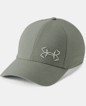 New Arrival  Men's UA Fish CoolSwitch ArmourVent™ Cap  1  Color Available $35